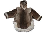 男子用 カリブーの毛皮製アノラック