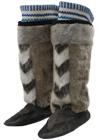 男子用 アザラシの毛皮製のブーツ