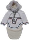 女子用 布製のダッフルコート