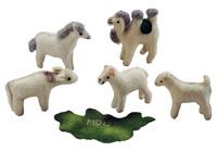 五畜(フェルト製玩具)