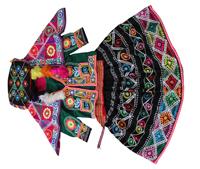 ティンタ村の女子祭礼用衣装