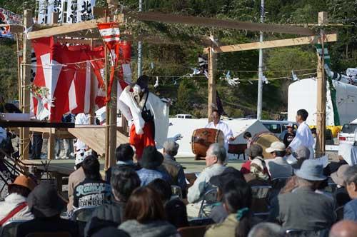 2012年、震災後最初の地域のお祭り