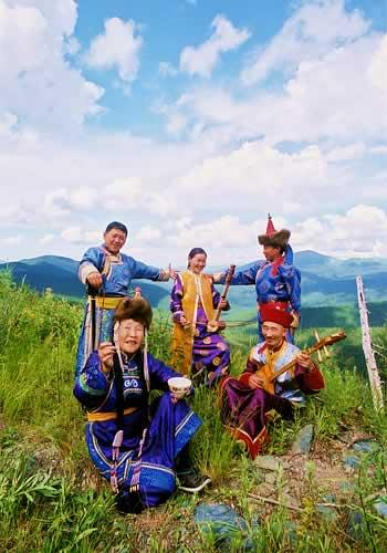 南シベリア・トゥバ族の民謡―フーメイとその民族音楽