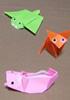 折り紙教室「千島・樺太・北海道の動物」