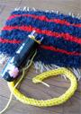 あそびの広場2012「織る編むであそぼう!」