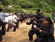 「護りの時空(The art of defending self, silek in West Sumatra)」