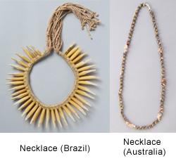 Necklace (Brazil) Necklace (Australia)