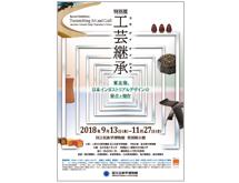 特別展「工芸継承―東北発、日本インダストリアルデザインの原点と現在」