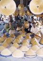 インドネシアの市場(いちば)と商人