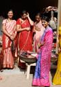 南アジアの衣装と文様表現