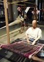 東南アジアの織機と織物