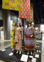 アフリカの織物とプリント布