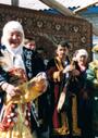 中央アジアの春の祝祭ナウルズ