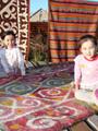 中央アジアの嫁入り道具