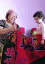 中央アジアの手工芸