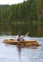 樹皮舟を復元する―極東ロシアの白樺樹皮文化