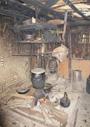 ベトナム、黒タイの台所