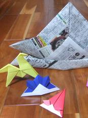 特別展関連ワークショップ「折り紙教室」