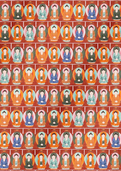 規則的配色がつくりだす宗教空間――敦煌莫高窟の千仏壁画 【オンライン(ライブ配信)のみに変更】