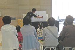 あそびの広場2019「パネルシアターでみんぱく展示を知ろう!」